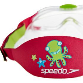 speedo Biofuse Sea Squad Máscara Niños, verde